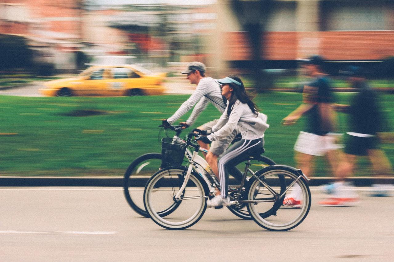 Cykling er en motionsform, der ikke belaster kroppen