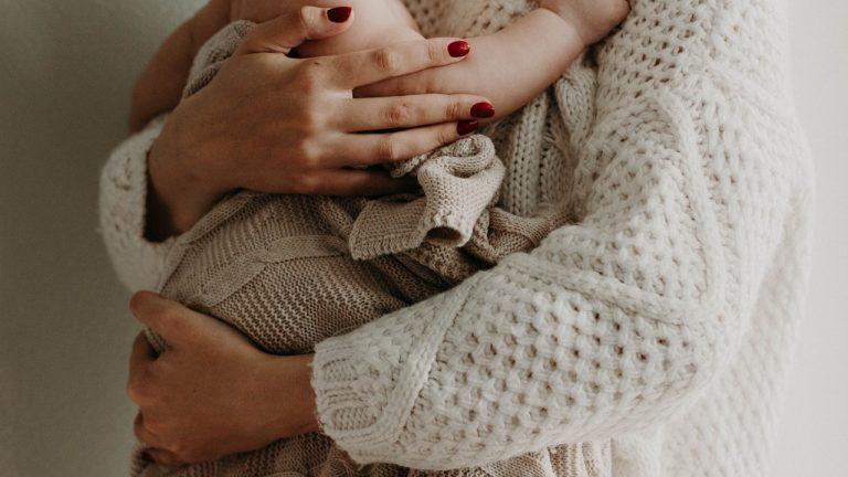 Mor og baby