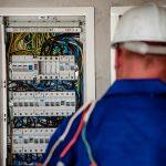 elektriker, el tavle, arbejde